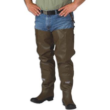 Caddis Mens Rubber Hip Boot w/ Knee Harness