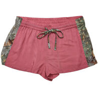 Wilderness Dreams Women's Kings Camo Trimmed Sleep Short