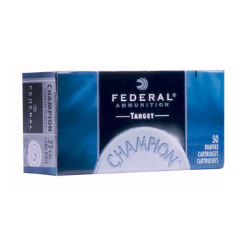 Federal Champion 22 LR 40 Grain Solid Rimfire Ammo (325)