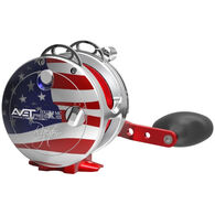 Avet HXJ 5/2 Raptor 2-Speed Lever Drag Patriot Saltwater Casting Reel - Limited Edition
