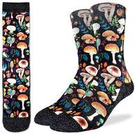 Good Luck Sock Men's Mushrooms Crew Sock