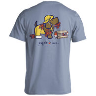 Puppie Love Women's Lobster Pup Short-Sleeve T-Shirt