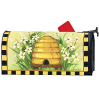 MailWraps Bee Skep Magnetic Mailbox Cover