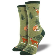 Socksmith Women's Winter Forest Crew Sock
