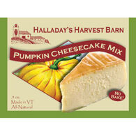 Halladay's Harvest Barn Pumpkin Cheesecake Mix