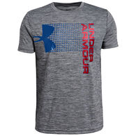 Under Armour Boys' UA Crossfade Short-Sleeve T-Shirt