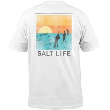 Salt Life Mens Endless Fishing Pocket Short-Sleeve T-Shirt