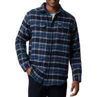 Columbia Men's Deschutes River Heavyweight Flannel Long-Sleeve Shirt