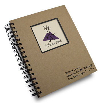 """Journals Unlimited """"Write it Down!"""" Me - A Personal Journal"""