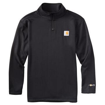 Carhartt Boys Force Quarter Zip Sweatshirt