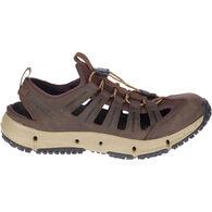 Merrell Men's Hydrotrekker Leather Sieve Trail Sandal