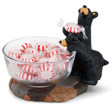 Big Sky Carvers Double Trouble Candy Dish
