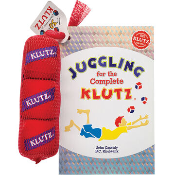 Klutz Juggling for the Complete Klutz by John Cassidy & B.C. Rimbeaux