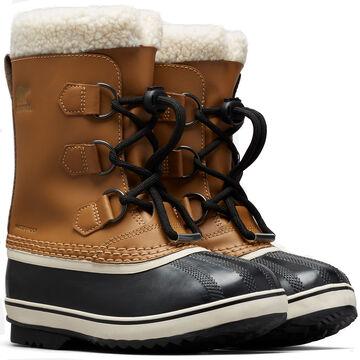 Sorel Boys & Girls Yoot Pac Waterproof Leather Winter Boot