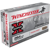 Winchester Super-X 284 Winchester 150 Grain Power-Point Rifle Ammo (20)