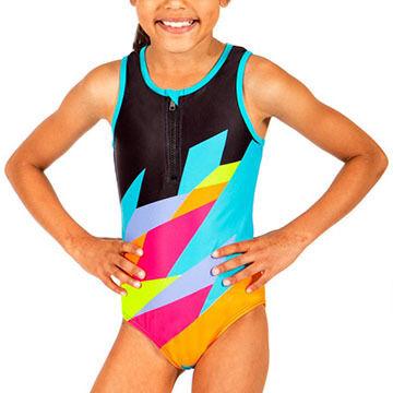 Girl & Co. Girls Cruz Printed Swimsuit