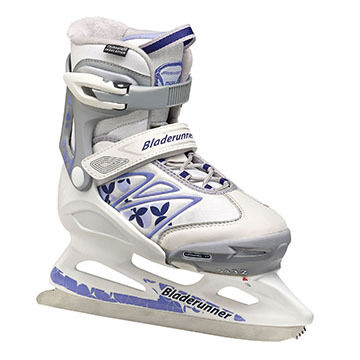 Bladerunner Girls' Micro XT Adjustable Ice Skate