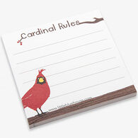 Hatley Cardinal Rules Sticky Notes