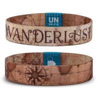 Unselfie Women's Wanderlust Pattern Wrist Band