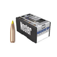 "Nosler Ballistic Tip 270 Cal. 130 Grain .270"" Spitzer Point / Yellow Tip Rifle Bullet (50)"