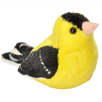 Wild Republic Audubon Stuffed Animal -  American Goldfinch