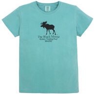 Original Design Women's Black Moose Kittery Trading Post Short-Sleeve T-Shirt