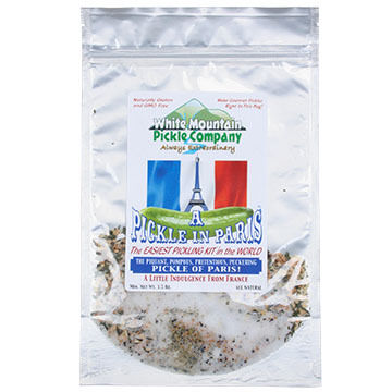 White Mountain Pickle Co. Pickle In Paris Dill Pickling Kit