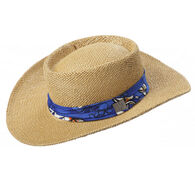 Crown Cap Men's Straw Panama Hat