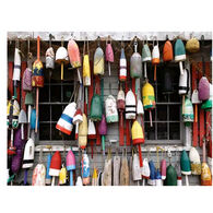White Mountain Jigsaw Puzzle - Lobster Buoys