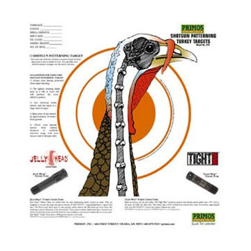 Primos Shotgun Patterning Turkey Target - 12 Pk.