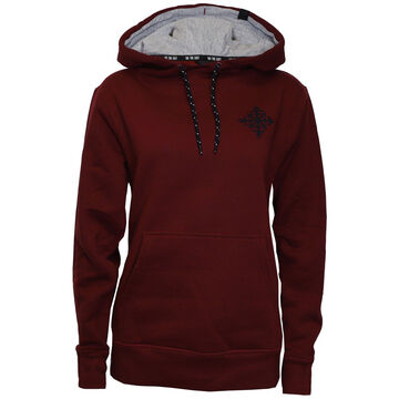 Ski The East Womens Compass Pullover Hoodie