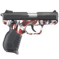 """Ruger SR22 22 LR One Nation Camo Polymer 3.5"""" 10-Round Pistol"""