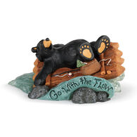 Big Sky Carvers Go With The Flow Bearfoots Figurine