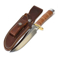 Randall Model 12 Little Bear Bowie Leather Handle Fixed Blade Knife