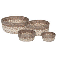 Capitol Earth Natural Braided Table Basket Set