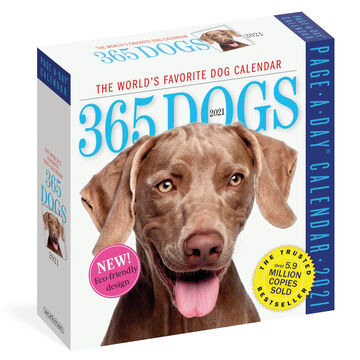 365 Dogs 2021 Page-A-Day Calendar by Workman Publishing