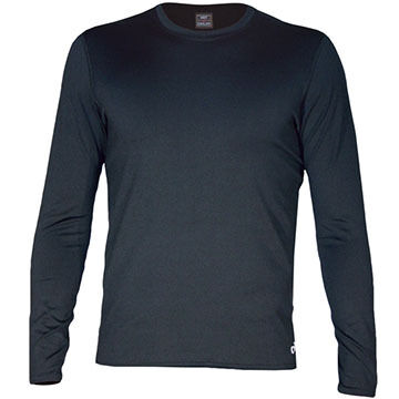 Hot Chillys Mens Micro-Elite Chamois Crew-Neck Baselayer Top