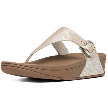 FitFlop Womens The Skinny Leather Sandal