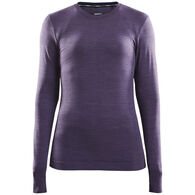 Craft Sportswear Women's Fuseknit Comfort Baselayer Long-Sleeve Top
