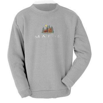 ESY Mens Maine Cabin Crew Neck Sweatshirt