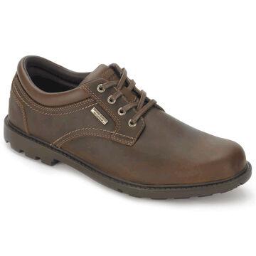 Rockport Mens Rugged Bucks Waterproof Plain Toe Oxford Shoe