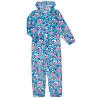 Candy Pink Girl's Yogacorn Pajama Onesie