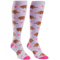 Sock It To Me Women's Hedgehog Heaven Sock