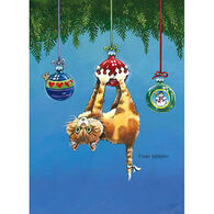 LPG Greetings What Now Cat Boxed Christmas Cards