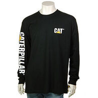 CAT Apparel Men's Trademark Banner Long-Sleeve T-Shirt