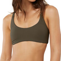 O'Neill Women's Salt Water Solids Active Bikini Top