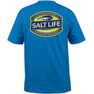 Salt Life Men's Life in the Cast Lane Pocket Short-Sleeve T-Shirt
