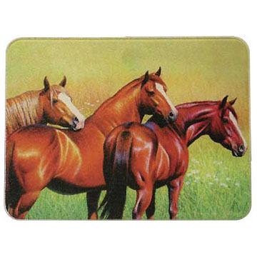 Rivers Edge Three Horses Cutting Board