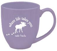 Where Life Takes You Moose Mug