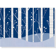 Peter Pauper Press White Birches w/Keepsake Box Deluxe Holiday Cards